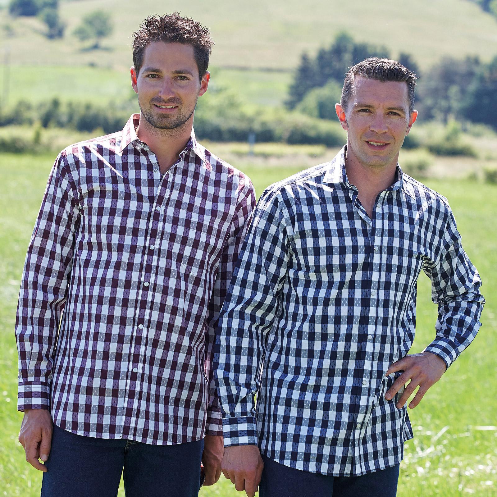 Chemises homme adaptées