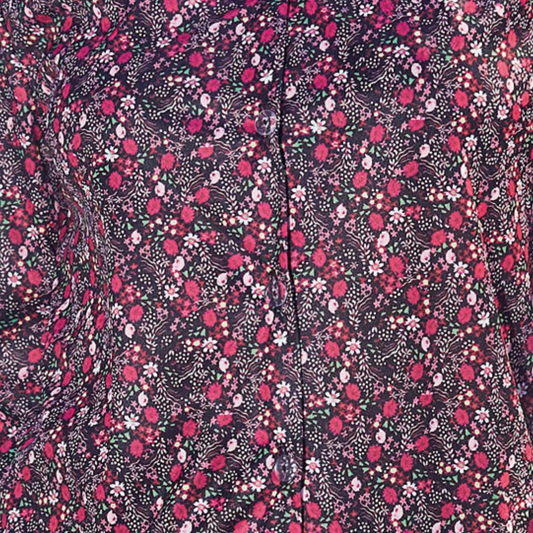 Fleurs framboise (21H290R)
